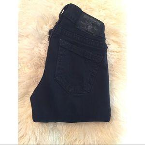True Religion Black Casey Jeans